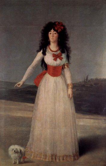 goya maria del pilar teresa cayetana de silva y alvarez de duchess of albas coll