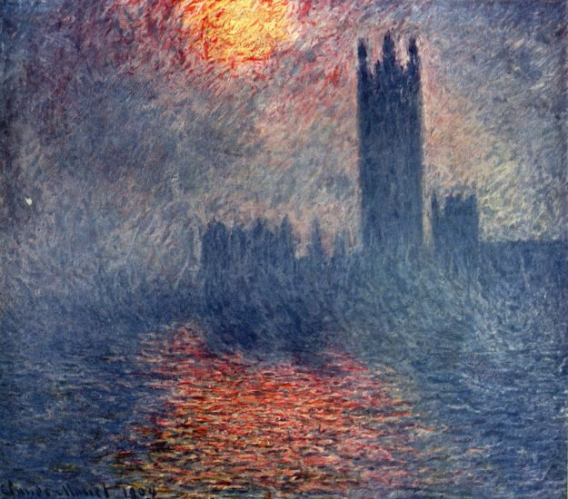 monet the houses of parliament in london musee dorsay