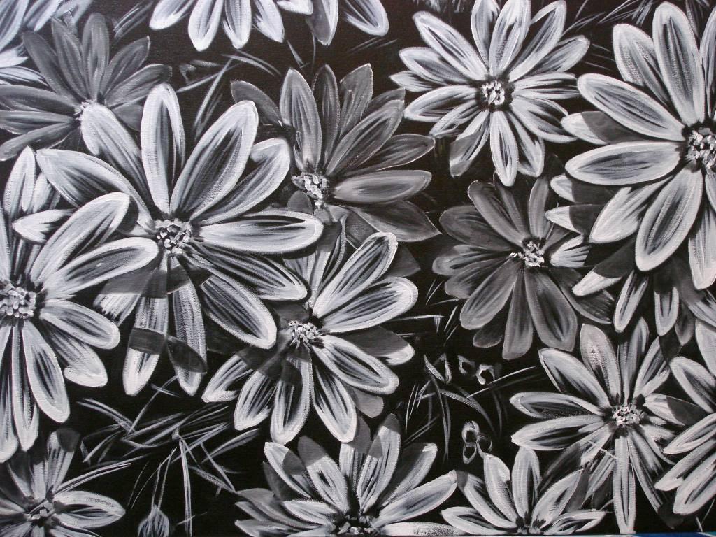 Dimorfotecas en blanco y negro aura castro a for Imagenes de cuadros abstractos en blanco y negro