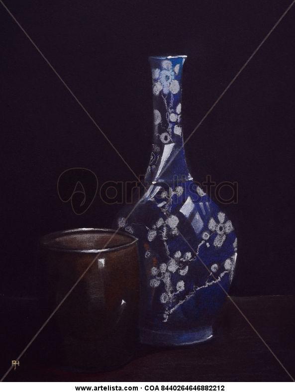 jarrón chino, chinese vase