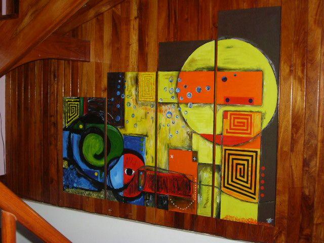 El laberinto de las figuras geom tricas stalin alvarado for Imagenes de cuadros abstractos geometricos