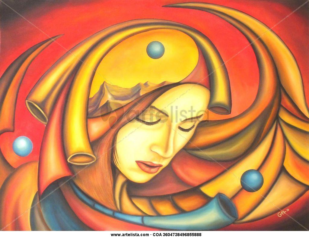 Pensamientos cava del arte galeria - Pinturas acrilicas modernas ...