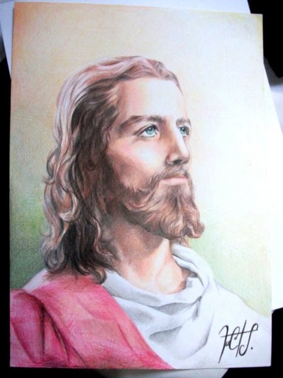 Imágenes de Jesús para dibujar a lápiz - Imagui