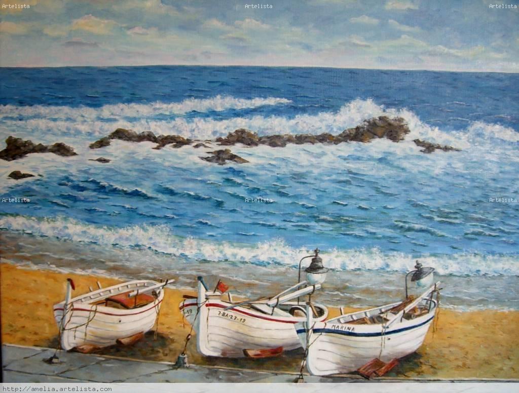 Marina amelia filizzola for Cuadros de marinas