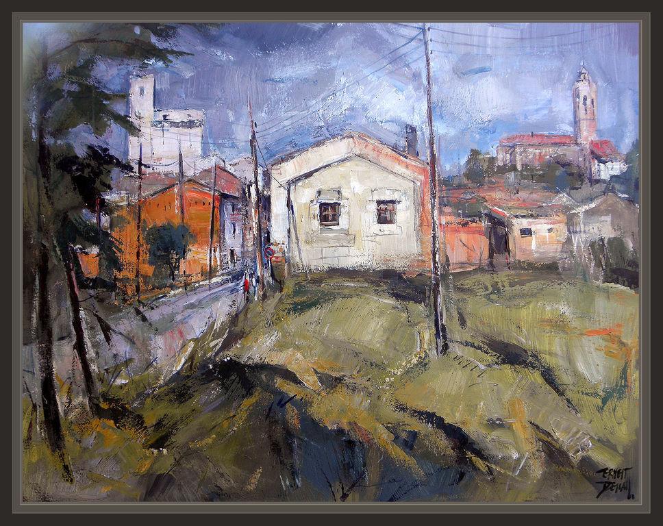 Bellpuig lleida lerida pintura cuadros pintores paisajes - Cuadros de pintura ...