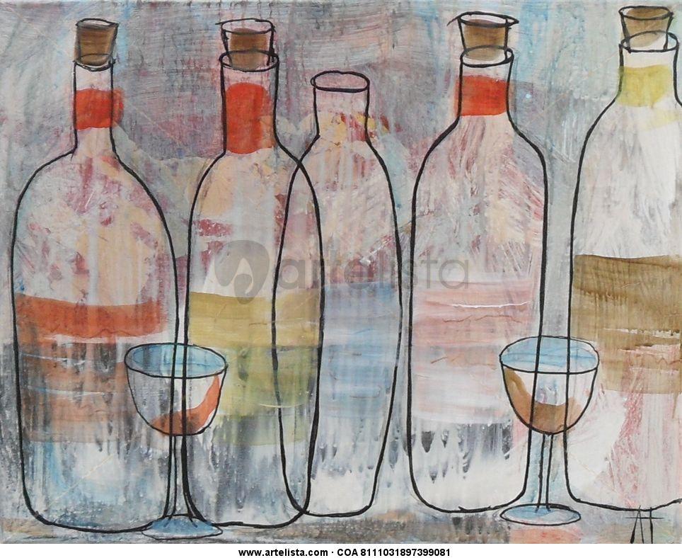 Botellas de licor antonio torres rodr guez - Botelleros de obra ...