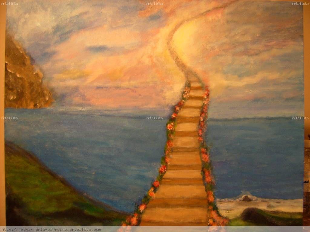 Escalera al cielo juana barreiro nunez for Cuadros para escaleras