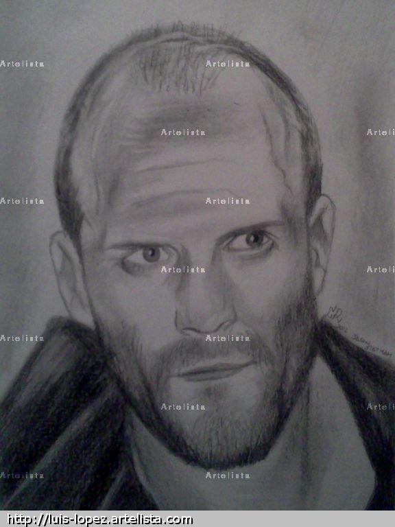 Jason Statham Pencil