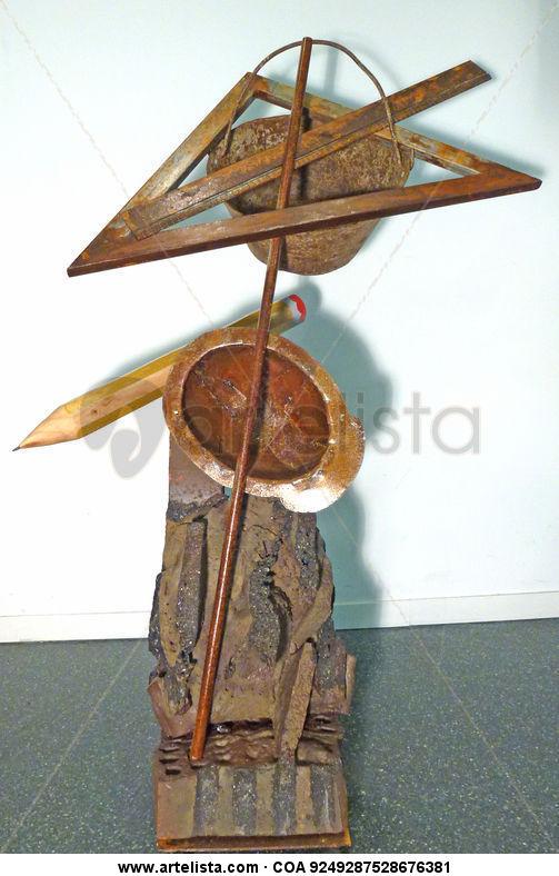 travailleur de la sculpture