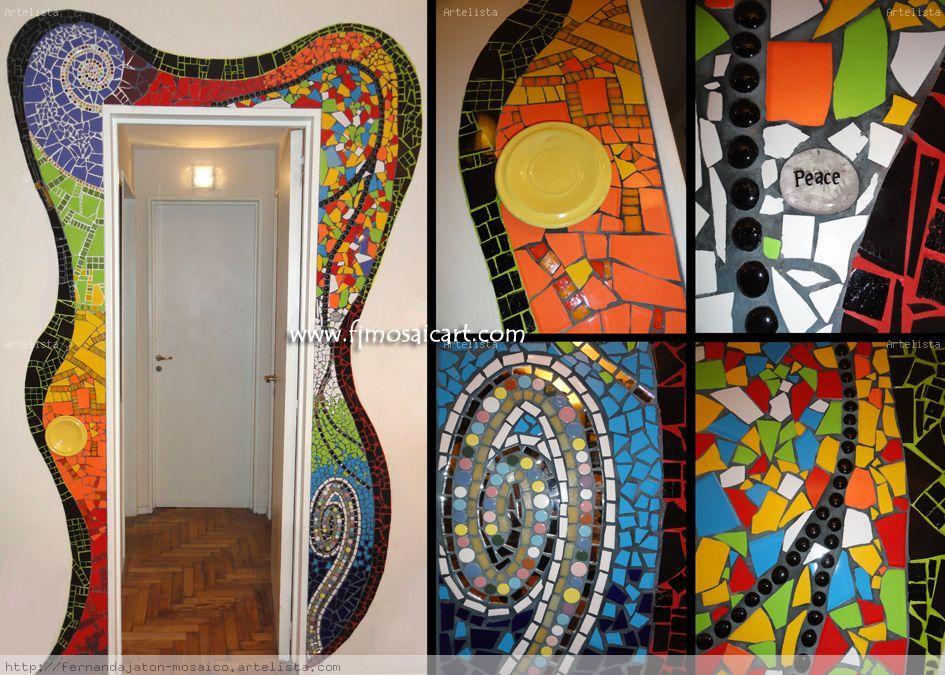 Mosaiquismo decoraci n de interiores fernanda jaton - Cuadros decoracion de interiores ...