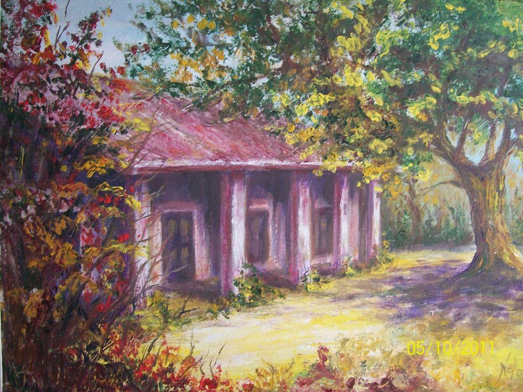 Casa de campo noem edelbis lasala for Pinturas para casas de campo
