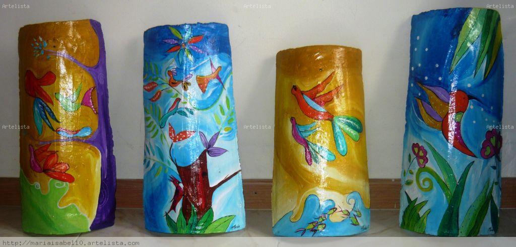 Tejas de barro maria isabel rodriguez gutierrez - Pintura para tejas ...