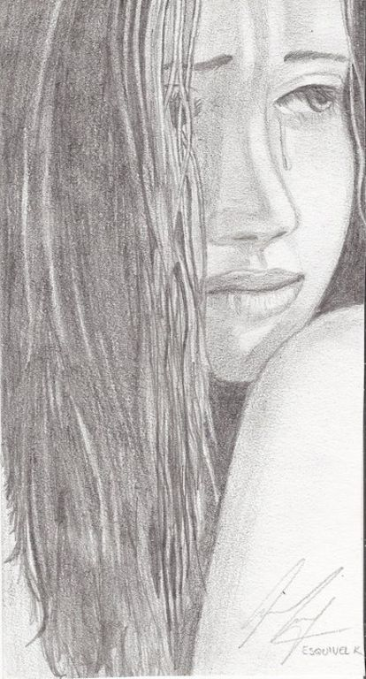 Dibujos tristes a lapiz para dibujar - Imagui