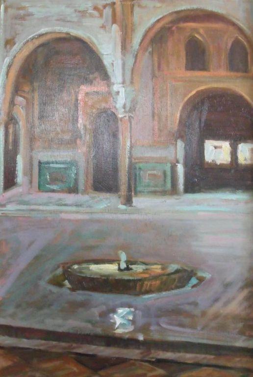 Baños Arabes Real De La Alhambra:Baños arabes (Alhambra) Maria Victoria Garrido Hita – Artelistacom