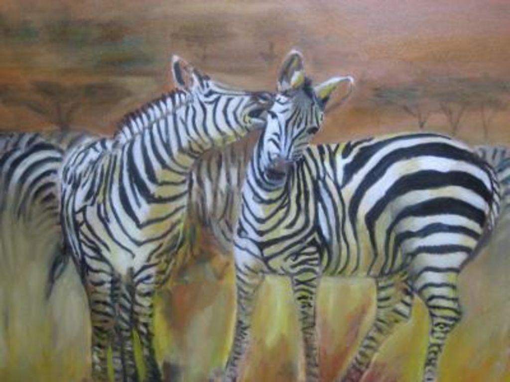 Cebras diana monroy jimenez - Cuadros de cebras ...