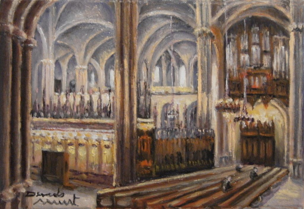 Catedral de barcelona ernesto descals munt for Interior de la catedral de barcelona