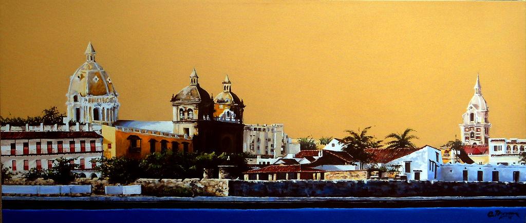 Cartagena de indias carlos thomen - Pintores en cartagena ...