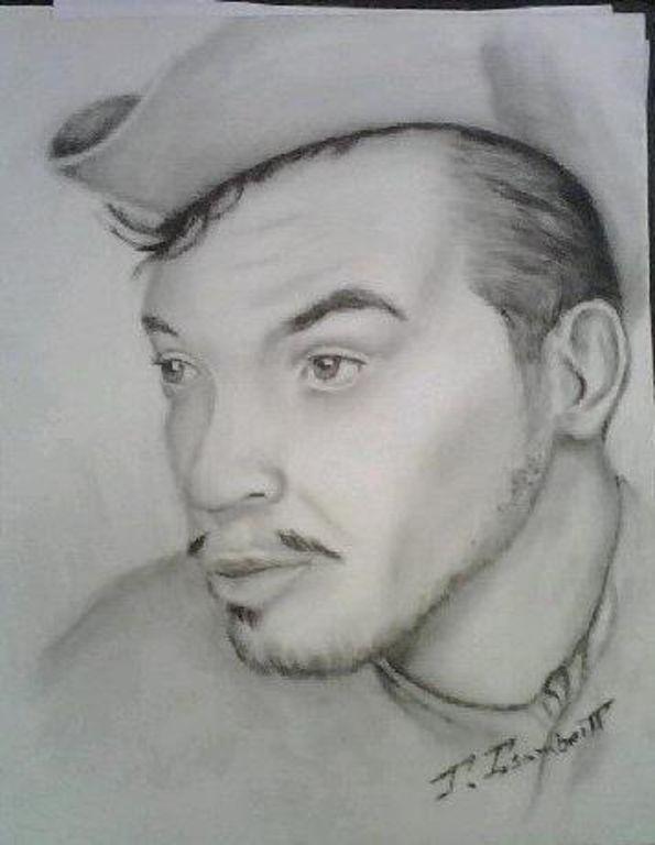 Mario Fortino Alfonso Moreno Reyes (Cantinflas) Óleo Cartulina Paisaje - 8992695144056901