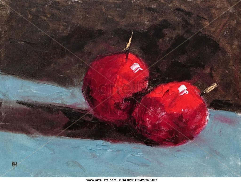 dos cerezas, two cherries