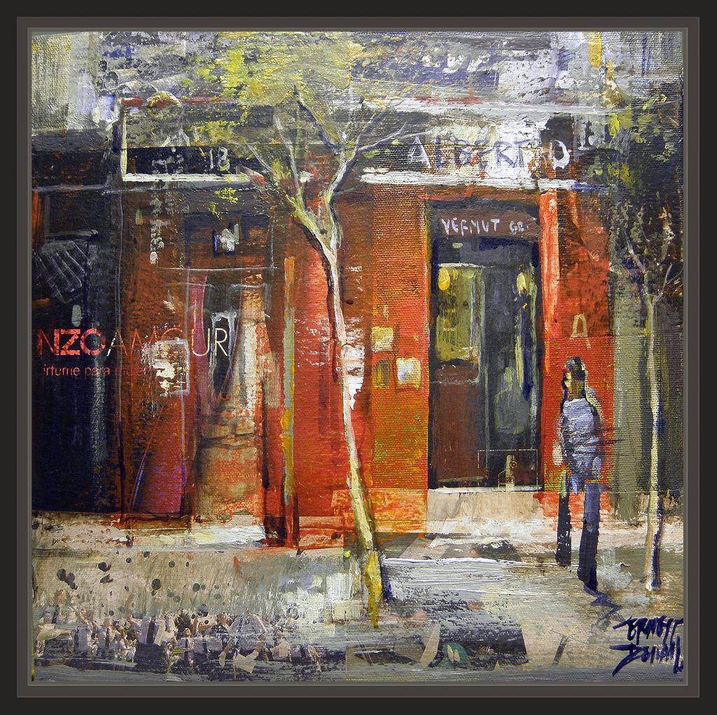 Madrid Restaurantes Pintura Cuadros Pintor Ernest Descals