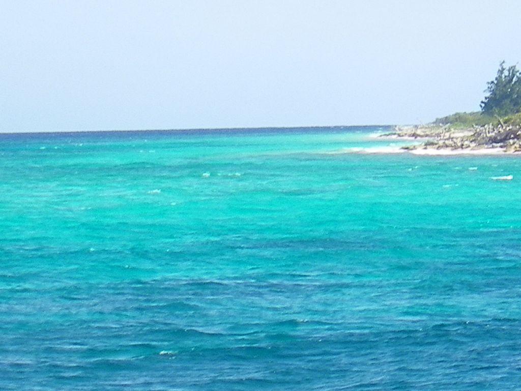 Mi mar caribe bello naturaleza color digital
