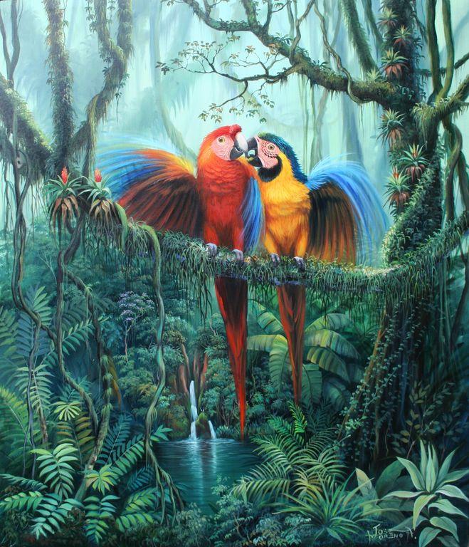 Pinturas cuadros paisajes con aves tattoo design bild for Cuadros para poner fotos