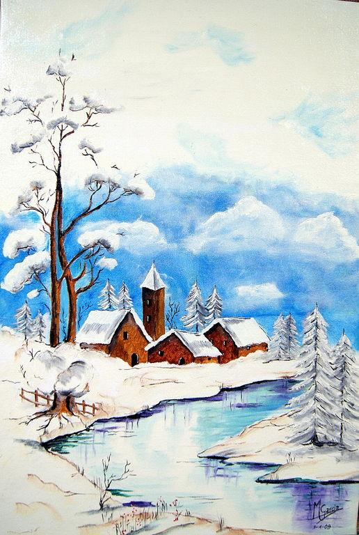 Paisaje navidad 3 miguel garcia lopez for Pinterest obras de arte