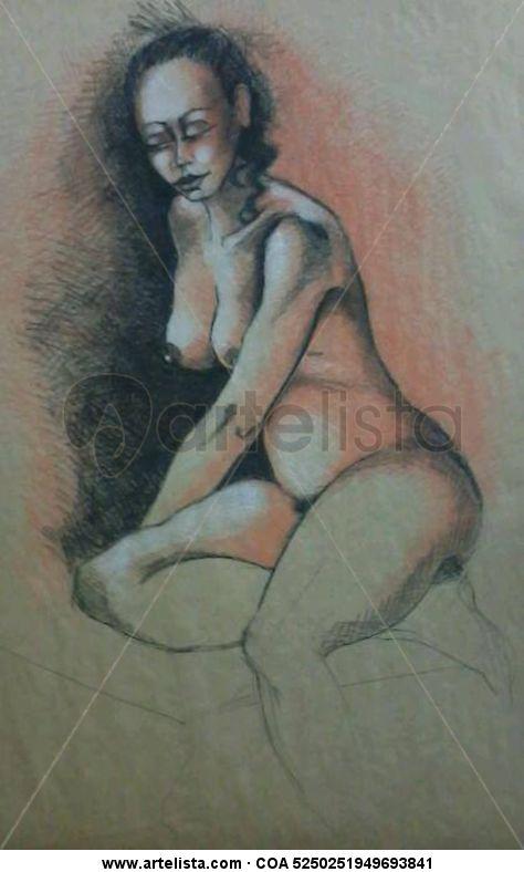 Jefe femenino desnudo