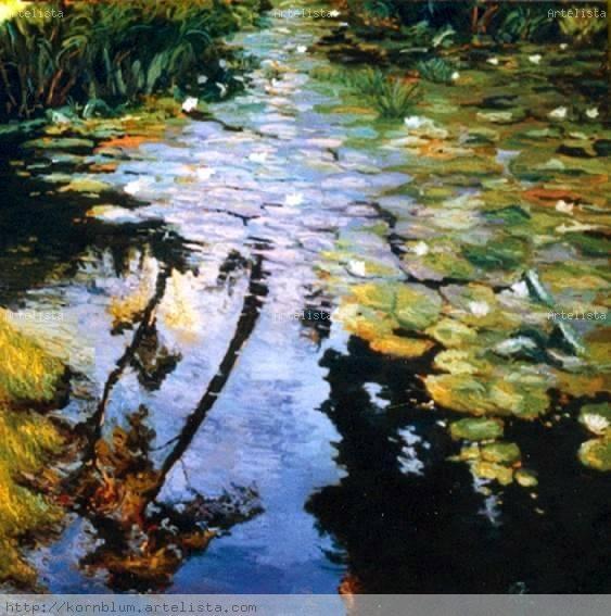 Estanque de nen fares oliver kornblum for Pintura para estanques