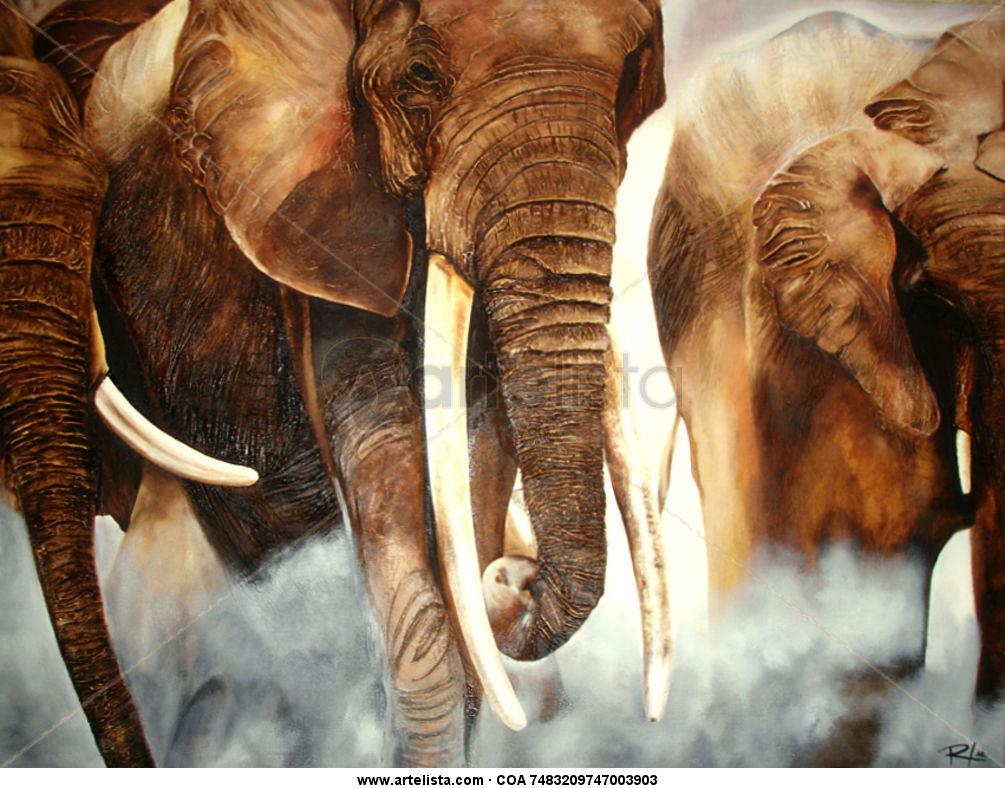 tons of elephants