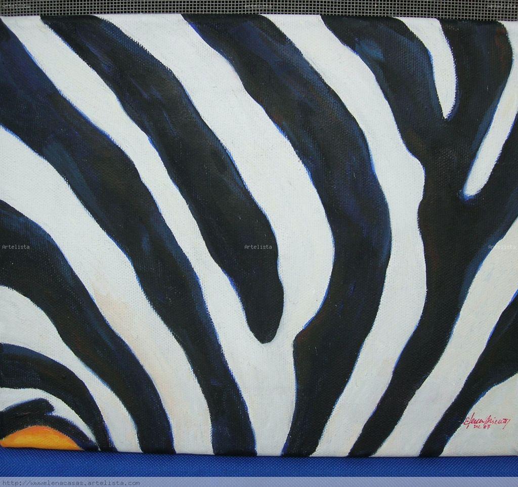 Piel de Cebra elena casas- Artelista.com
