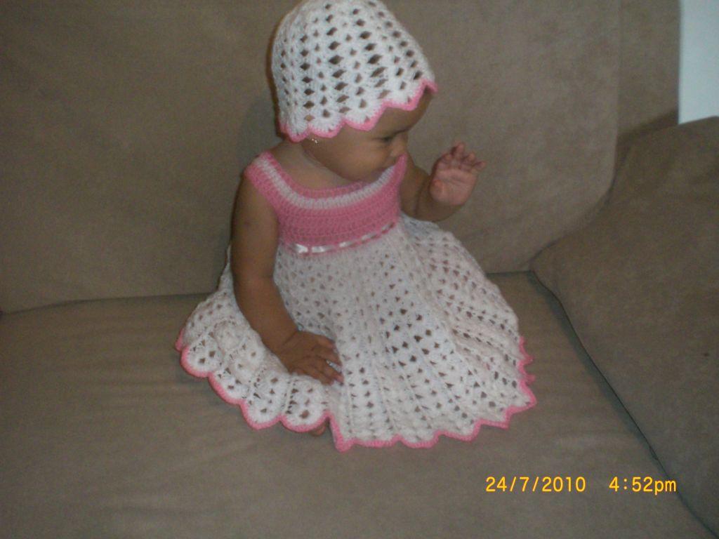 Vestidos De Nina Tejidos a Crochet