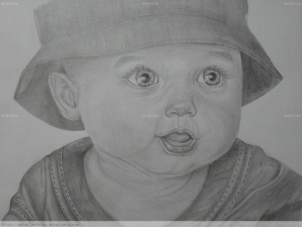 Rostro de bebe Lizeth Gaviria - Artelista.