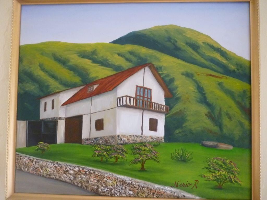 Paisaje andino casa en la monta a nerio reyes - Casas en la montana ...