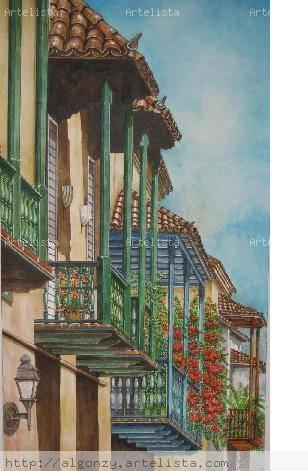 Balcones de cartagena ii carlos alberto gonz lez da silva - Pintores en cartagena ...