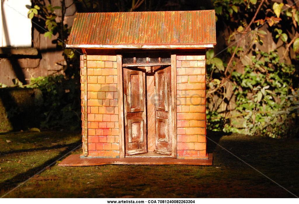 Puerta casa antigua maquetas y retablos casas en for Puerta casa antigua