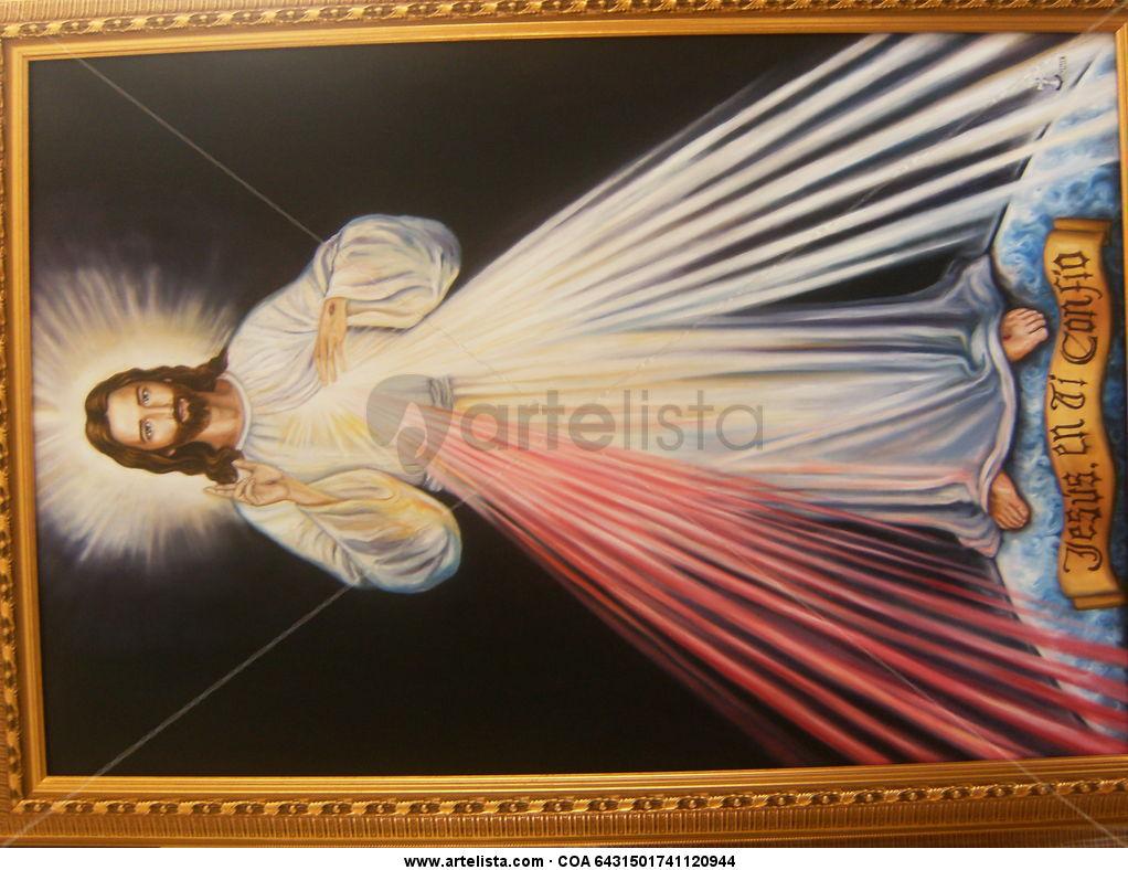 Jesus de la Divina Misericordia Juan Carlos Lopez Londoño - Artelista ...