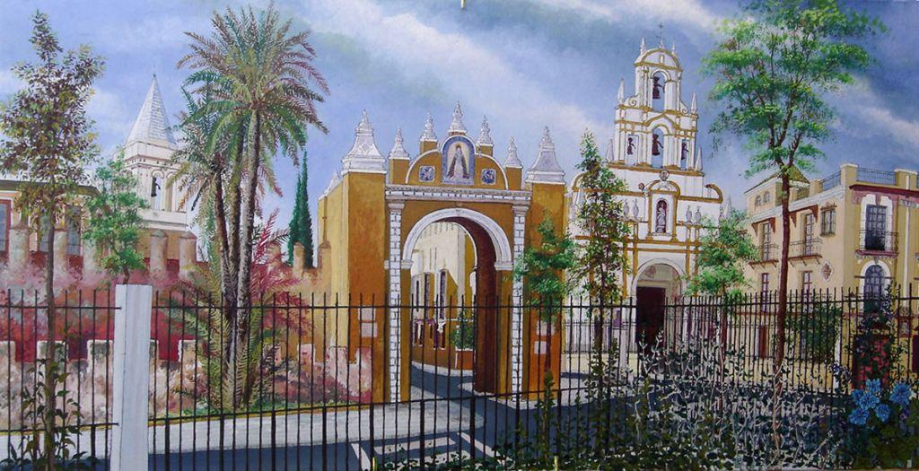 Sevilla bas lica de la macarena manuel macias avila for Todo pintura sevilla