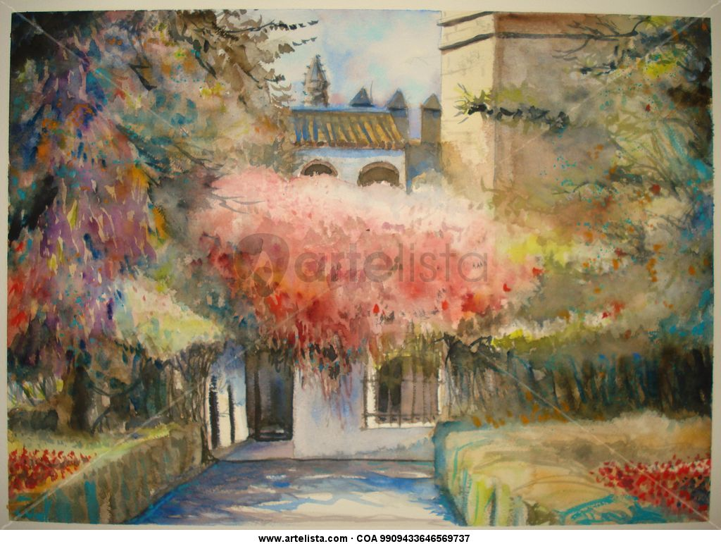Sevilla reales alcazares jose sanchez for Todo pintura sevilla