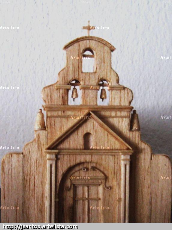 Estancia jesuitica la candelaria capilla la candelaria - Portales de madera ...