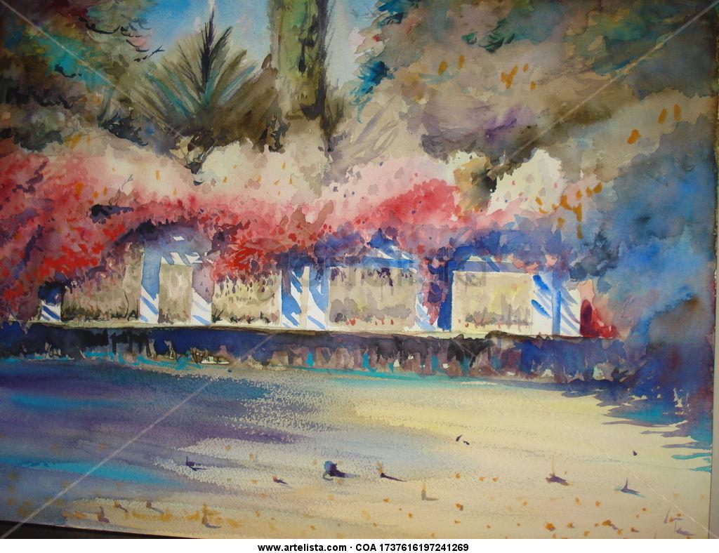 Sevilla pergola parque maria luisa jose sanchez for Todo pintura sevilla