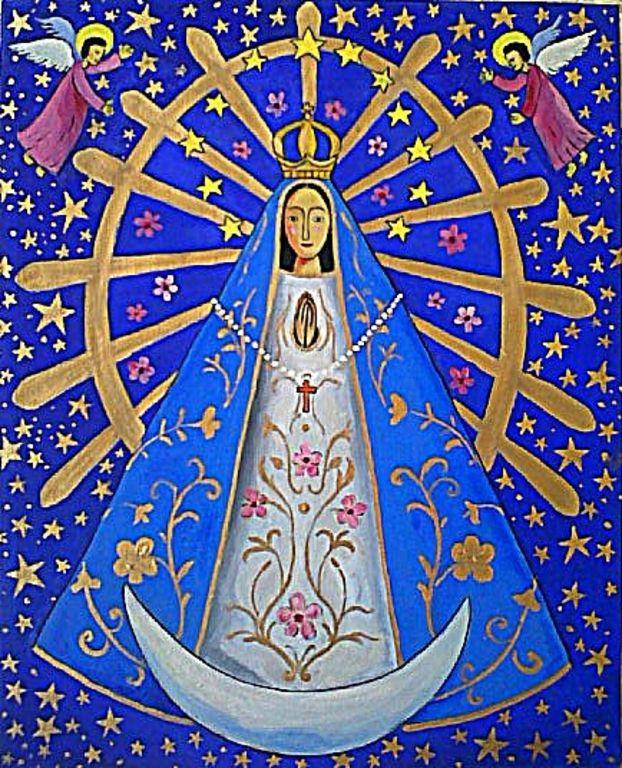 Virgen De Lujn Colouring Pages page 3
