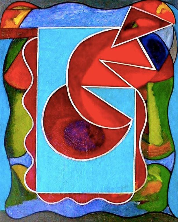 Abstracto para una composici n alejandro conde l pez for Imagenes de cuadros abstractos para ninos