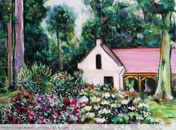La casita de campo antonia campos cano en - Casitas de campo ...
