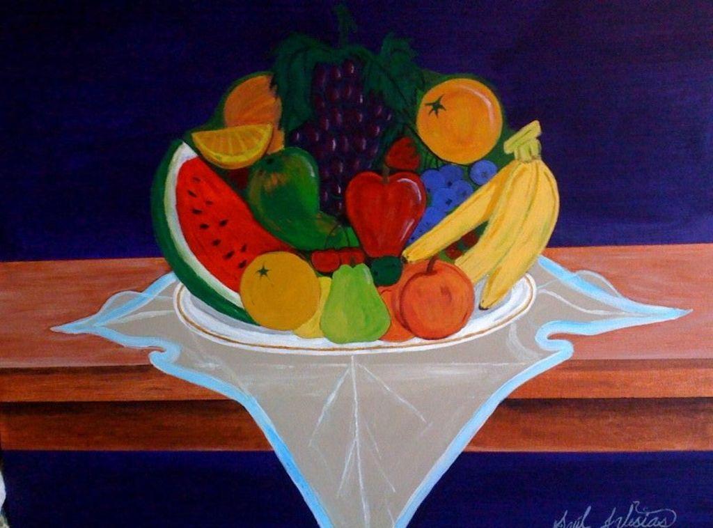 fruits,el frutero Saul iglesias - Artelista.