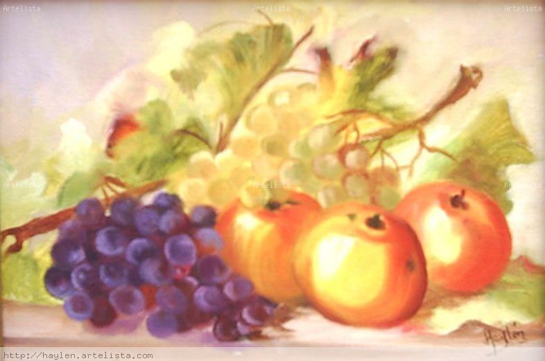 uvas y manzanas Luz Haylén Lizcano Paéz - Artelista.com