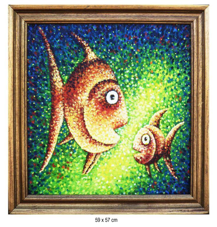 Peces jose alejandro herrera mora - Cuadros con peces ...