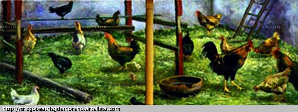 0137 09 011 el gallinero de la cajita triz go g mez de - Gallineros de obra ...