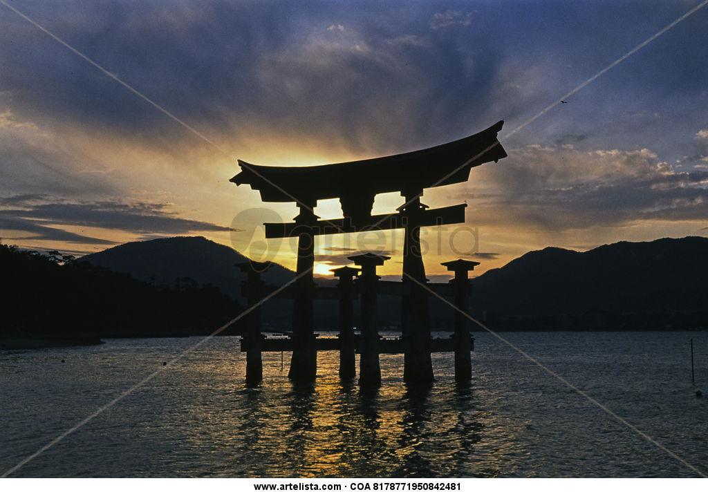 miyajima sunset - limited edition #1 of 25