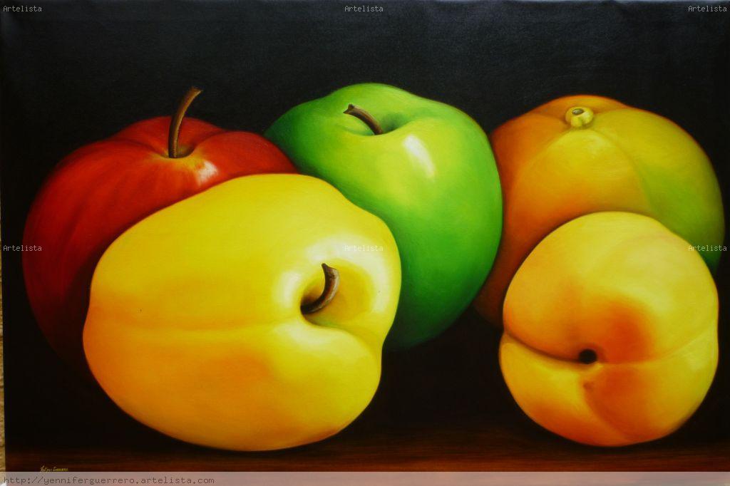 Serie Frutas Grandes   Leo Lienzo Bones